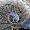 Willa Medici, jedna z dwóch pierwotnych klatek schodowych prowadzących do pomieszczeń reprezentacyjnych ówczesnego casino