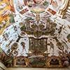 Villa Medici, studiolo of Cardinal Ferdinand de Medici, decorations by Jacopo Zucchi