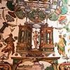 Willa Medici, studiolo kardynała Ferdynanda de Medici, dekoracje Jacopo Zucchiego