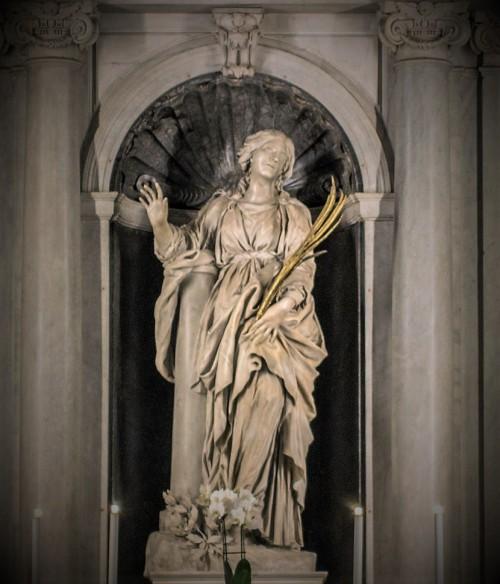 Posąg św. Bibiany, kościół Santa Bibiana, Gian Lorenzo Bernini
