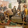 Ciało św. Bibiany porzucone na pożarcie psom, kościół Santa Bibiana, Agostino Ciampelli