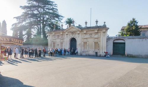 Awentyn, brama prowadząca na teren Państwa Zakonu Maltańskiego
