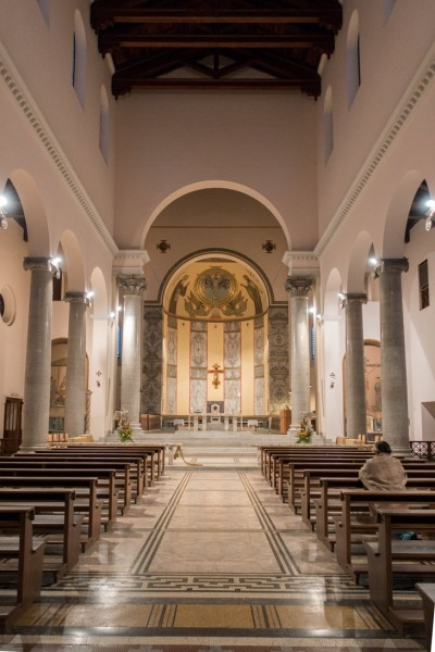 Awentyn, widok wnętrza kościoła Sant'Anselmo
