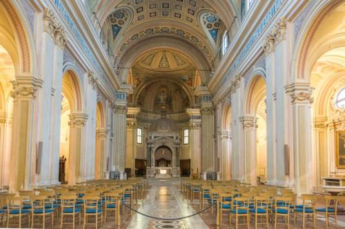 Awentyn, wnętrze kościoła Santi Bonifacio e Alessio