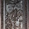 Awentyn, cyprysowe drzwi z V w., bazylika Santa Sabina