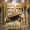 Awentyn, ołtarz poświęcony św. Aleksemu w kościele Santi Bonifacio e Alessio