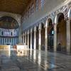Awentyn, wnętrze bazyliki Santa Sabina