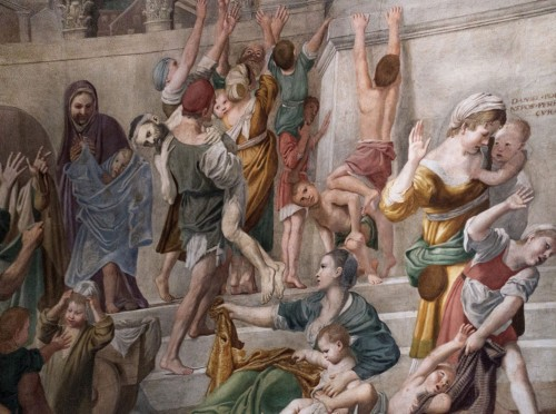 Domenichino, freski w kaplicy św. Cecylii, kościół San Luigi dei Francesi