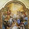 The Apotheosis of St. Cecilia, Sebastiano Conca, vault fresco of the Basilica of Santa Cecilia