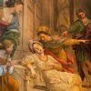 The Death of St. Cecilia, Domenichino, Chapel of St. Cecilia in the Church of San Luigi dei Francesi