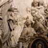 Śmierć św. Cecylii, fragment, Antonio Raggi, kościół Sant'Agnese in Agone