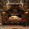 Św. Cecylia, Stefano Maderno, 1596 r., rzeźba w ołtarzu bazyliki Santa Cecilia
