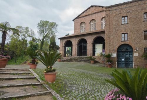 Façade of the Church of Santa Balbina