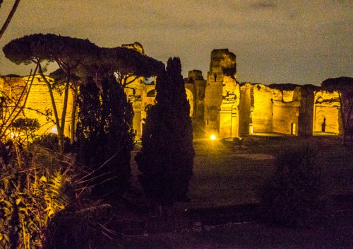 Small Aventine, the Baths of Caracalla
