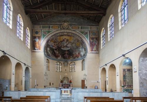 Wnętrze kościoła Santa Balbina