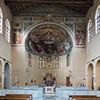 Interior of the Church of San Balbina