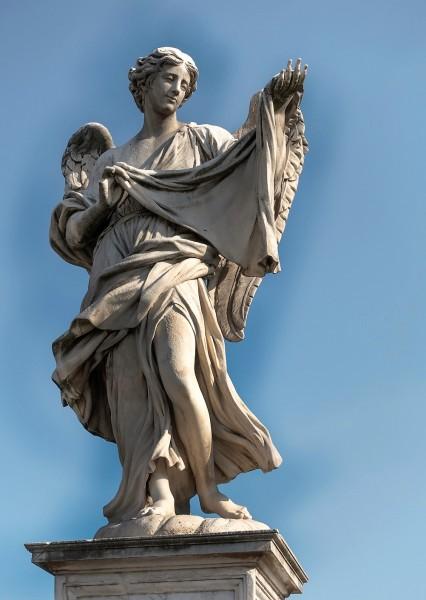 Bridge of the Holy Angel (Ponte Sant'Angelo), Angel with the Sudarium, Cosimo Fancelli