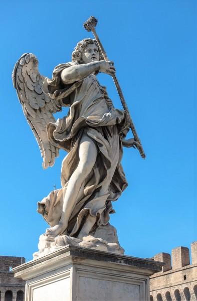 Bridge of the Holy Angel (Ponte Sant'Angelo), Angel with the Sponge, Antonio Giorgetti