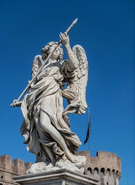 Ponte Sant'Angelo, Anioł z lancą, Domenico Guidi