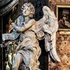 Gian Lorenzo Bernini, Angel with the Superscription, Church of Sant'Andrea delle Fratte