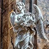 Gian Lorenzo Bernini, Angel with the Crown of Thorns, Church of Sant'Andrea delle Fratte