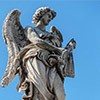 Bridge of the Holy Angel (Ponte Sant'Angelo), Angel with the Whips, Lazzaro Morelli