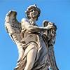 Ponte Sant'Angelo, Anioł z koroną cierniową, Paolo Naldini