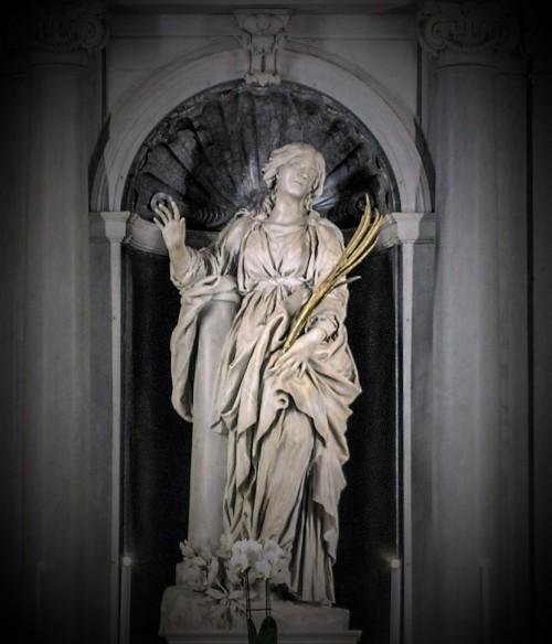 Posąg św. Bibiany, Gian Lorenzo Bernini, kościół Santa Bibiana