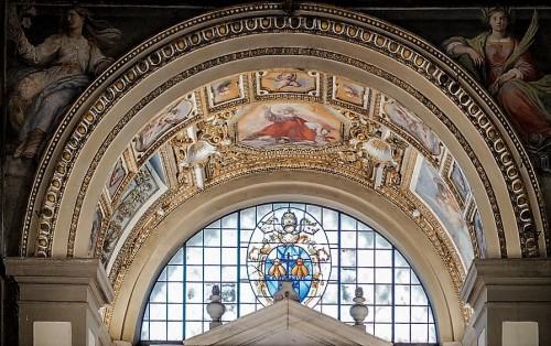 Church of Santa Bibiana, frescos in the apse of the church, Agostino Ciampelli