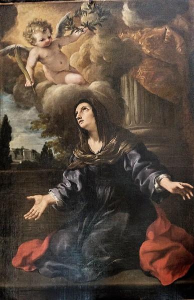 Kościół Santa Bibiana, Św. Dafroza, Pietro da Cortona