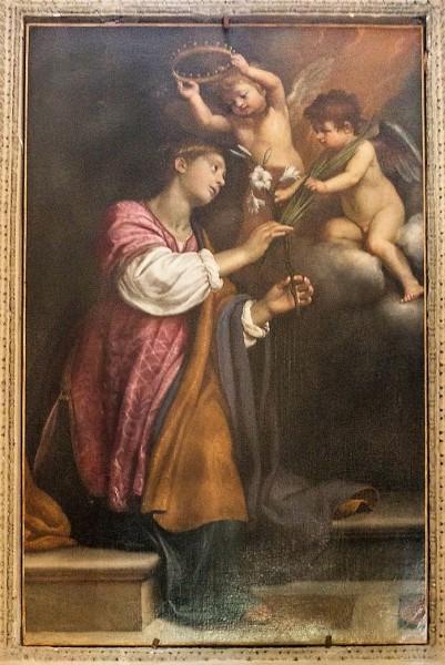 Kościół Santa Bibiana, Św. Demetria, Agostino Ciampelli