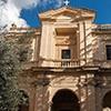 Façade of the Church of Santa Bibiana
