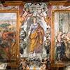 Kościół Santa Bibiana, freski - cykl poświęcony męczeństwu św. Bibiany, Pietro da Cortona