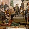 Kościół Santa Bibiana, freski, Porzucenie zwłok świętej, Agostino Ciampelli