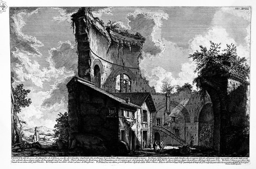 Mausoleum of Empress Helena, G.B.Piranesi, pic. Wikipedia