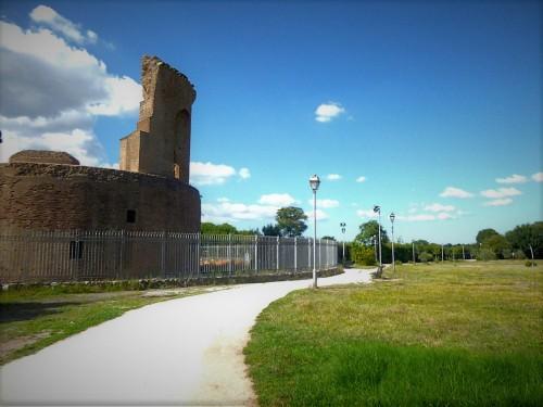 Pozostałości po mauzolem cesarzowej Heleny