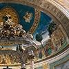 Antoniazzo Romano, Legenda św. Krzyża, freski w absydzie bazyliki Santa Croce in Gerusalemme