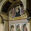Antoniazzo Romano, Madonna między świętymi, kościół Santi Vito e Modesto