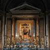 Antoniazzo Romano, Madonna z Dzieciątkiem między świętymi, kościół Santa Maria di Loreto