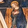 Antoniazzo Romano, Maria ze sceny Zwiastowania, kościół Sant'Onofrio
