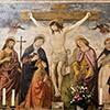 Antoniazzo Romano, scena Ukrzyżowania, komnata św. Katarzyny,  klasztor dominikanów obok bazyliki Santa Maria sopra Minerva