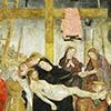 Antoniazzo Romano, Zdjęcie z krzyża w towarzystkiewie sióst benedyktynek, kościół Sant'Ambrogio della Massima, zdj. Wikipedia