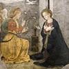 Antoniazzo Romano,  Zwiastowanie, komnata św. Katarzyny, klasztor dominikanów obok bazyliki Santa Maria sopra Minerva