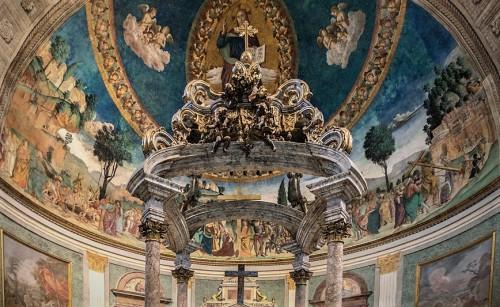 Antoniazzo Romano, Legenda Świętego Krzyża,bazylika Santa Croce in Gerusalemme