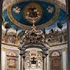 Antoniazzo Romano, Legenda Świętego Krzyża, absyda bazyliki Santa Croce in Gerusalemme