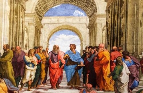 Szkoła ateńska, Rafael, apartamenty papieża Juliusza II, Pałac Apostolski