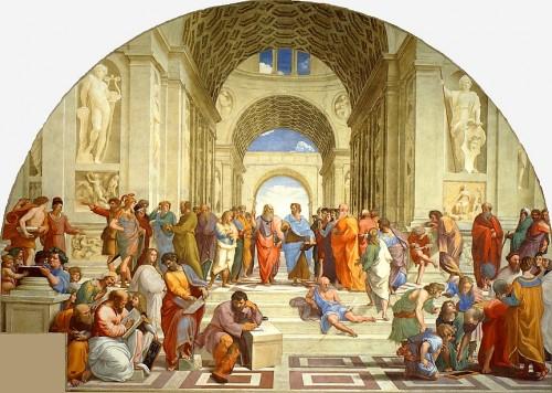 Szkoła ateńska, Rafael, zdj. Wikipedia