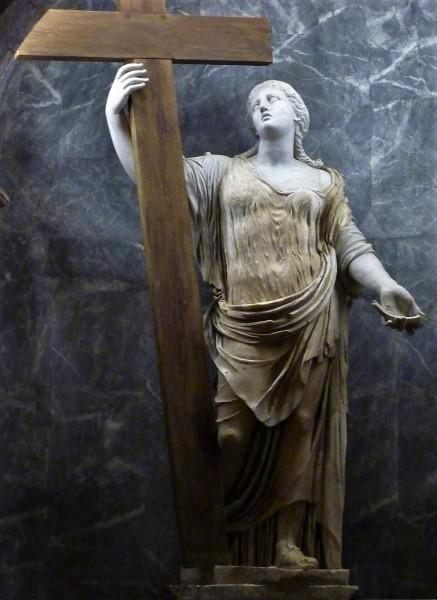 Statue of St. Helena, Chapel of St. Helena, Basilica of Santa Croce in Gerusalemme