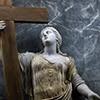 Posąg św. Heleny, fragment, kaplica św. Heleny, bazylika Santa Croce in Gerusalemme