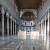 Wnętrze bazyliki Santa Sabina